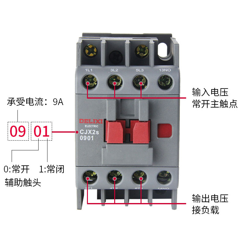 High Quality CE Certified CJX2 110V 220V 380V 12A 24A 36A 1210 1810 3 phase 2P electric Magnetic DC AC Contactor Price