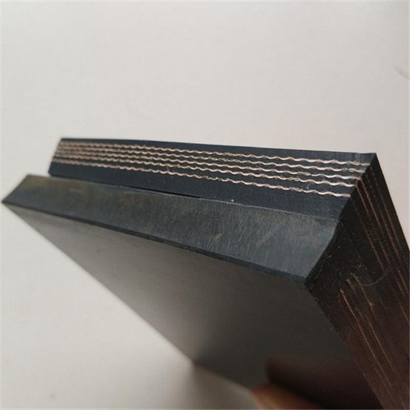 Жаростойкая к истиранию ткань транспортировка 1200 мм конвейерная лента EP300 Резиновая конвейерная лента для тяжелой породы