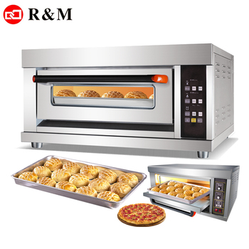 Bakery home cooking appliances horno 1 Single deck electric ovens,commercial pizza oven machine electric bread small baking oven