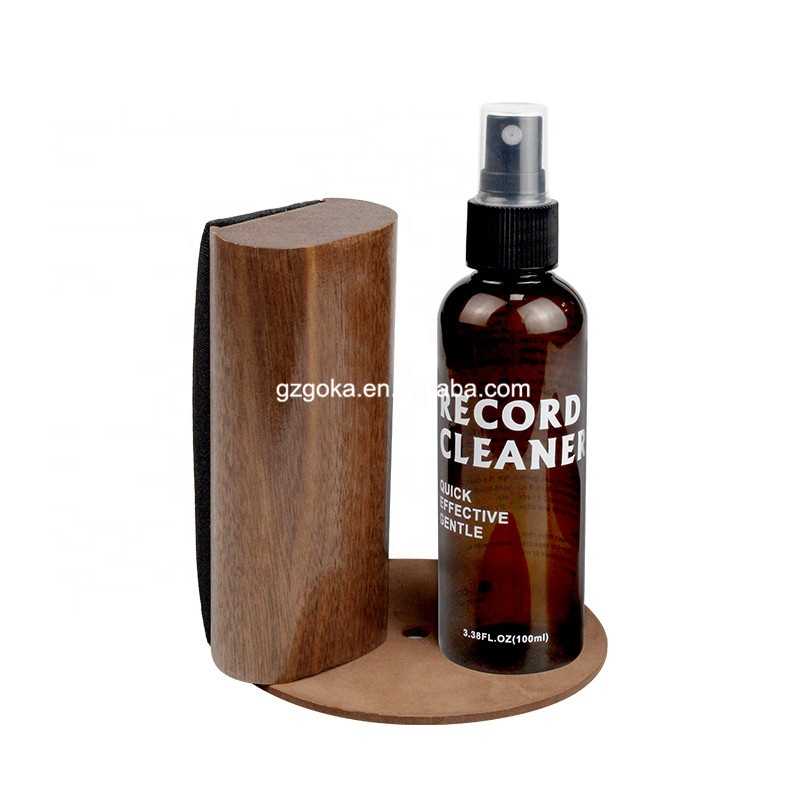 LP Vinyl Record Cleaning Brush Kit Record Brush / Cleaning Liquid / Stylus Cleaner Brush Record Accessories Cleaner System