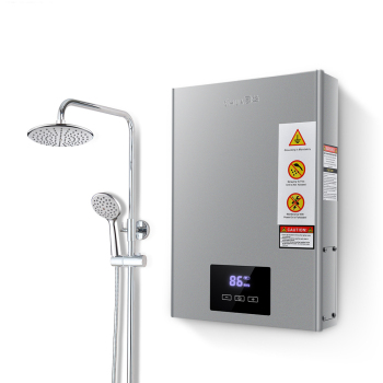 Instant Unlimited Volume Electric Tankless Instant Water Heater for Bathroom