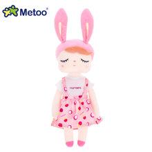 Нарядная кукла Анжела Кролик Metoo Мягкие игрушки Плюшевые животные детские игрушки для девочек Дети Мальчики Детские плюшевые игрушки Мульт...(Китай)