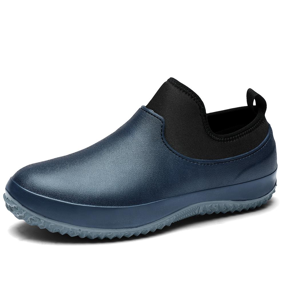 Wholesale Kitchen Chef Clogs Men Non Slip Nurses Leather Waterproof Clog Garden Shoes
