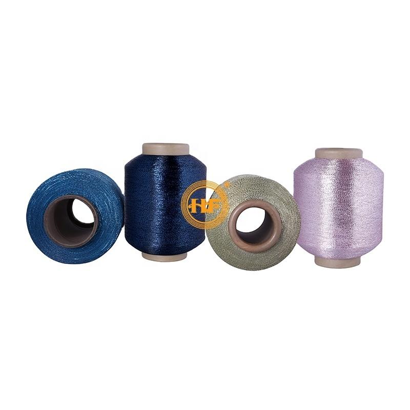 MH-type metallic yarn polyester filament yarn