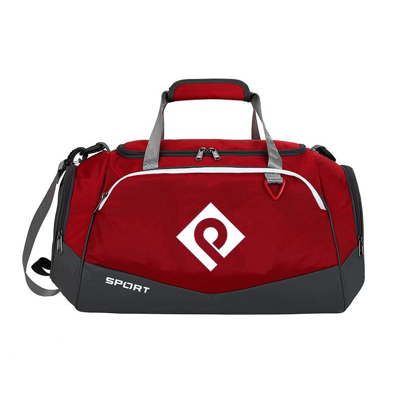 Custom Fashion waterproof Outdoor Sport Weekend Gym Travel Duffle bag Organizer