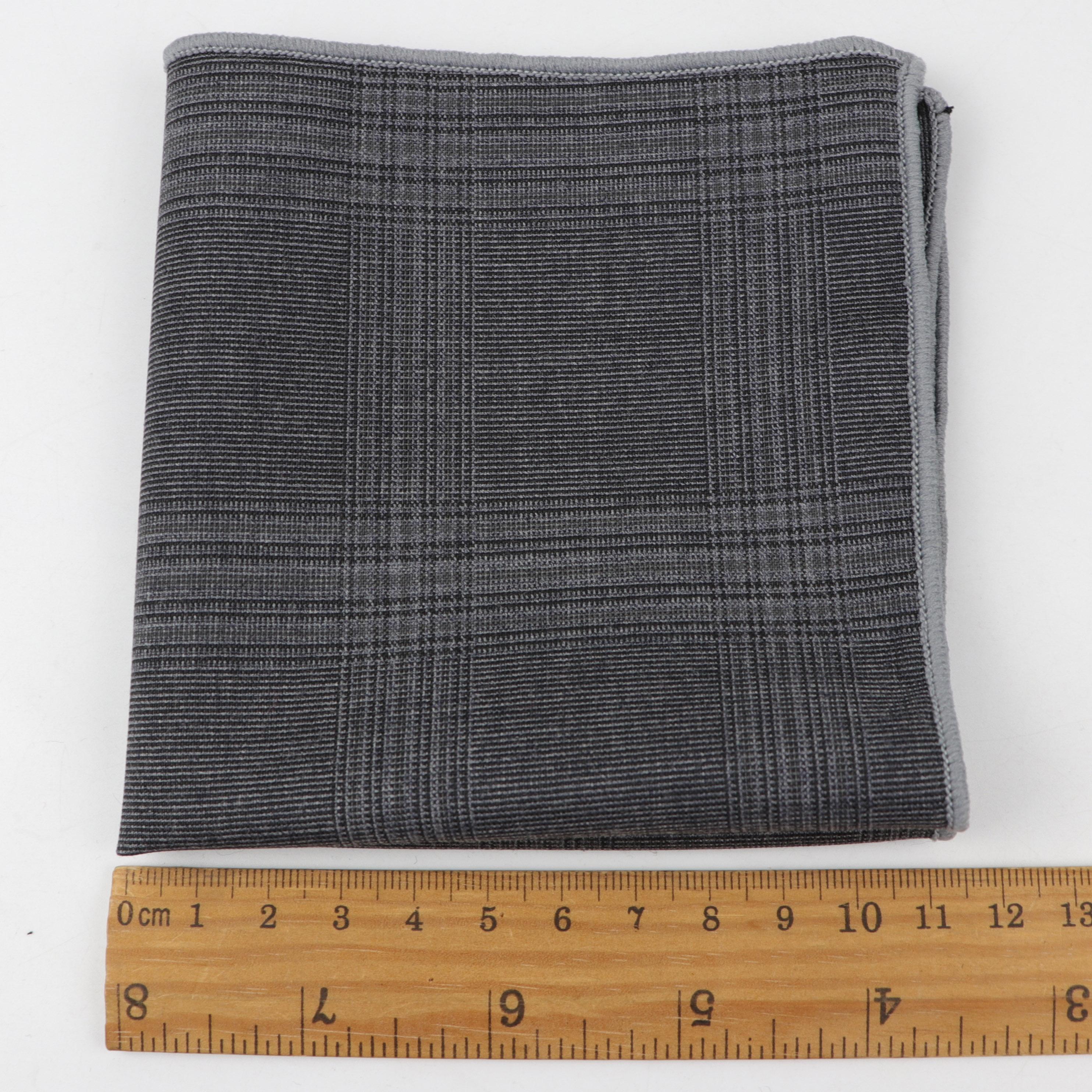 Модный популярный квадратный Карманный платок в полоску в клетку, стильный мужской носовой платок, галстук-бабочка для смокинга, аксессуар для вечеринки, качественный подарок