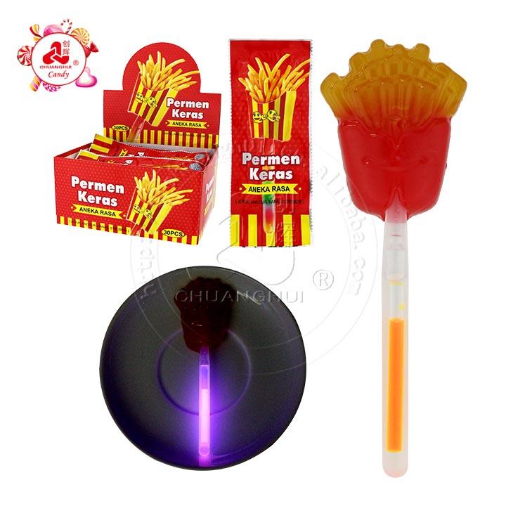 fluorescent lollipop