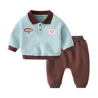 Pants Set In Stock 2PCS Newborn Baby Romper Pants Outfits Set Clothes For Boys And Girls