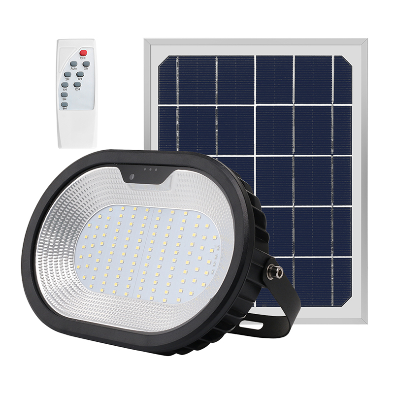 New Model Design Outdoor Lamp Security Led Solar Power Solar Flood Light
