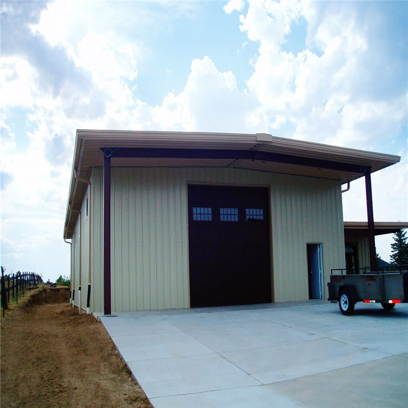 gable frame prefabricated steel shed building light metal industrial steel structure warehouse