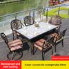 17-6 барный стул 1 керамическая плитка прямоугольный стол 150 см