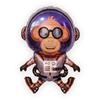 Space monkey 93*65CM