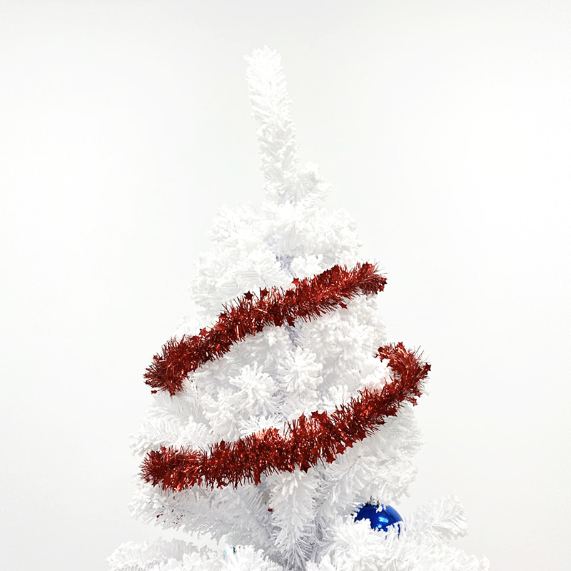 Tinsel Artificial Christmas Garland decorating supplies
