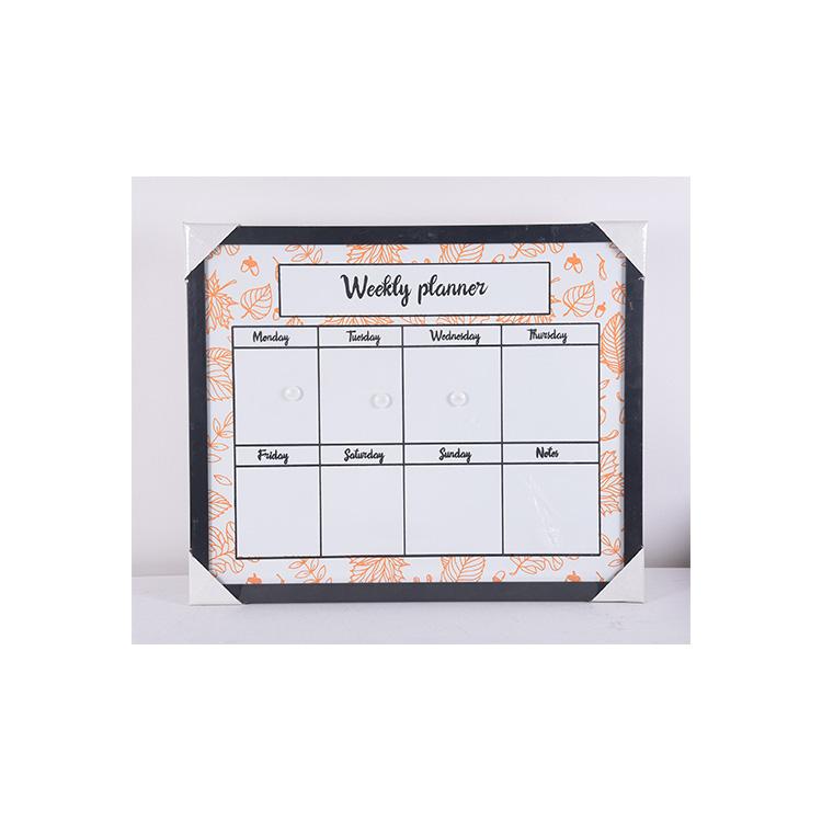Memo Message Office Home Schedule Planning Weekly Erasable Chalk Board - Yola WhiteBoard   szyola.net
