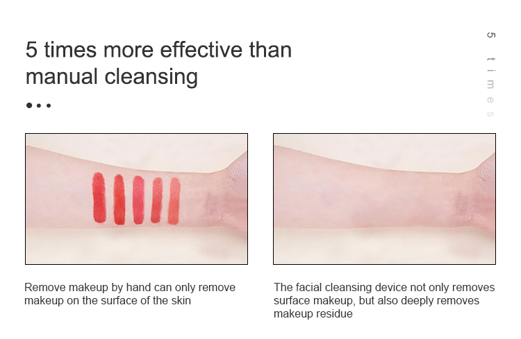 Silicone facial cleansing brush face silicone facial cleansing device pore cleansing brush