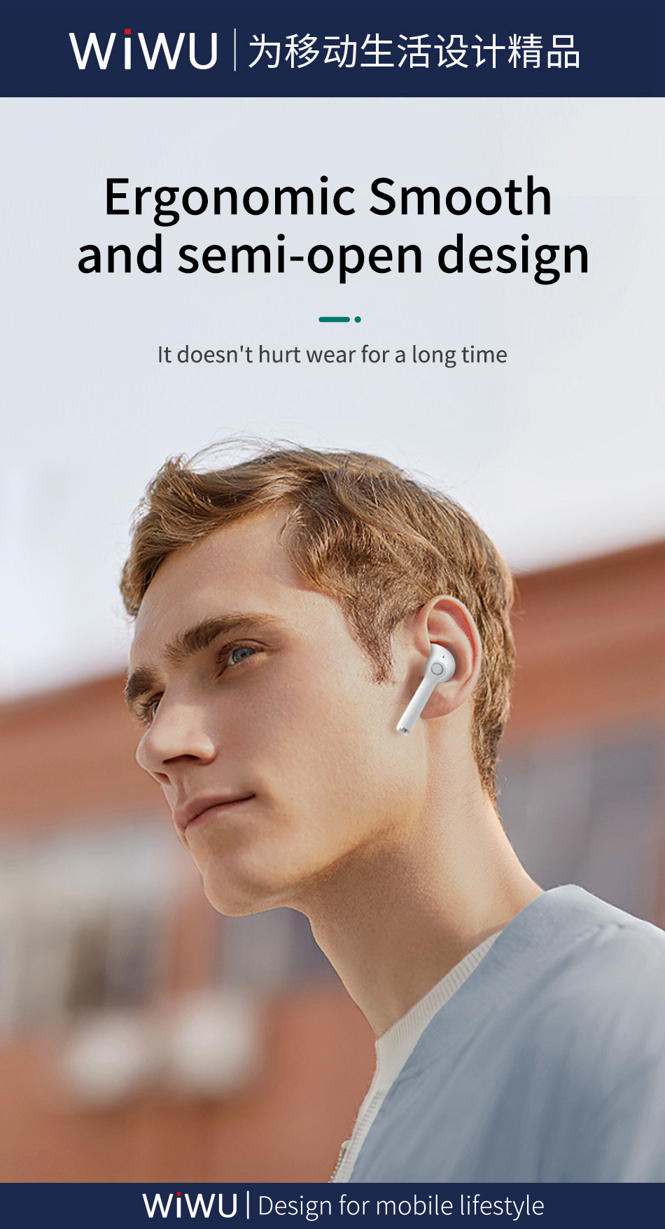 WiWU TWS06真无线双耳 蓝牙耳机 (https://www.wiwu.net.cn/) 耳机 第6张