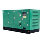 A.C. THREE PHASE big power sound proof generator and Diesel+Generators WITH denyo generator
