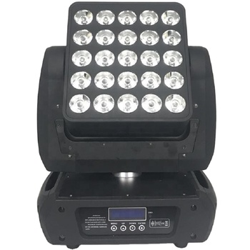 BALMB2541 ACL360 MATRIX Professional Infinite Led Matrix Beam 25ps 12W RGBW 4 in 1 Moving Head Stage Light