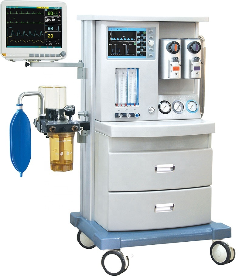 Medical equipment anestesia machine portable the anesthesia machine with two vaporizers veterinary
