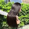 Silky straight wig