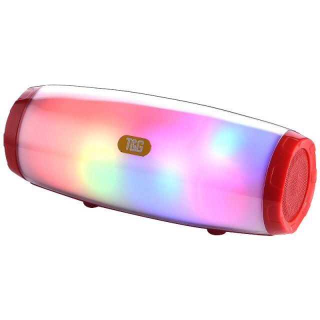 Новейшая модель; 1200 мАч светодиодный свет TG165 беспроводной динамик портативный динамик BT мини TG165C звуковая коробка Поддержка micro-USB, SD карт памяти, fm-радио 5 Вт * 2