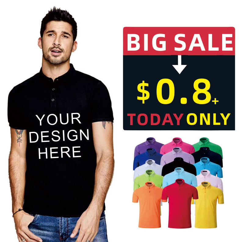 wholesale OEM unisex polo shirt, blank sport fit custom printing logo design 100% cotton pique plain mens golf polo t shirts