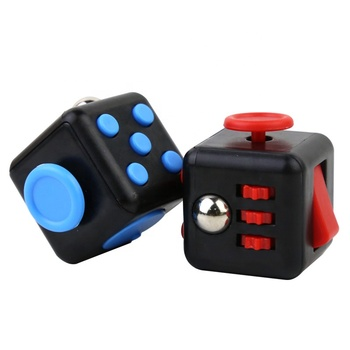 Fun Adult Resistance Anxiety magic Infinite Anti Stress fidget Cube Business Decompression Toys