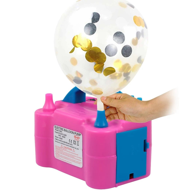 Amazon Ballon Accessories Manual Plastic ballon Hand air pump electric Balloon Pump