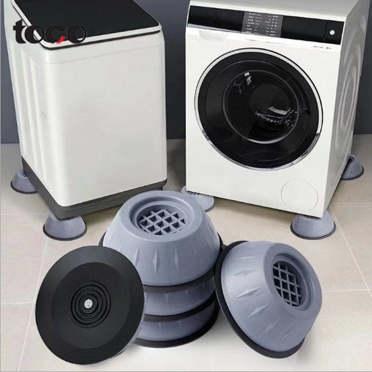 Токо стиральная машина с фиксированным нескользящее покрытие гарантируют защиту 4 шт. противоскользящие резиновые коврик для ног резиновая ножка стиральная машина
