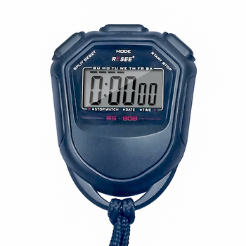 OEM Classic Waterproof Digital Handheld Lcd Chronograph School Sports Stopwatch Timer Stop Watch With String for athletics