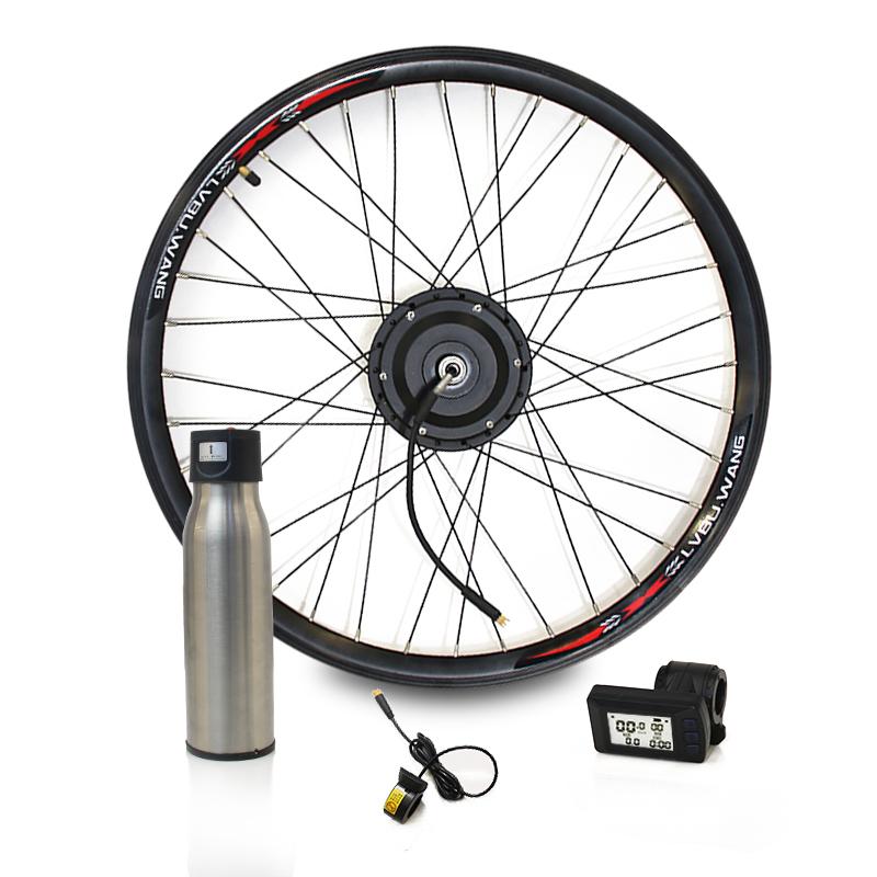 Details about  /Complete Electric Bike Kit 36V 250W 350W 500W Rear Front Hub Motor Wheel Convert