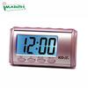 pink table alarm clock