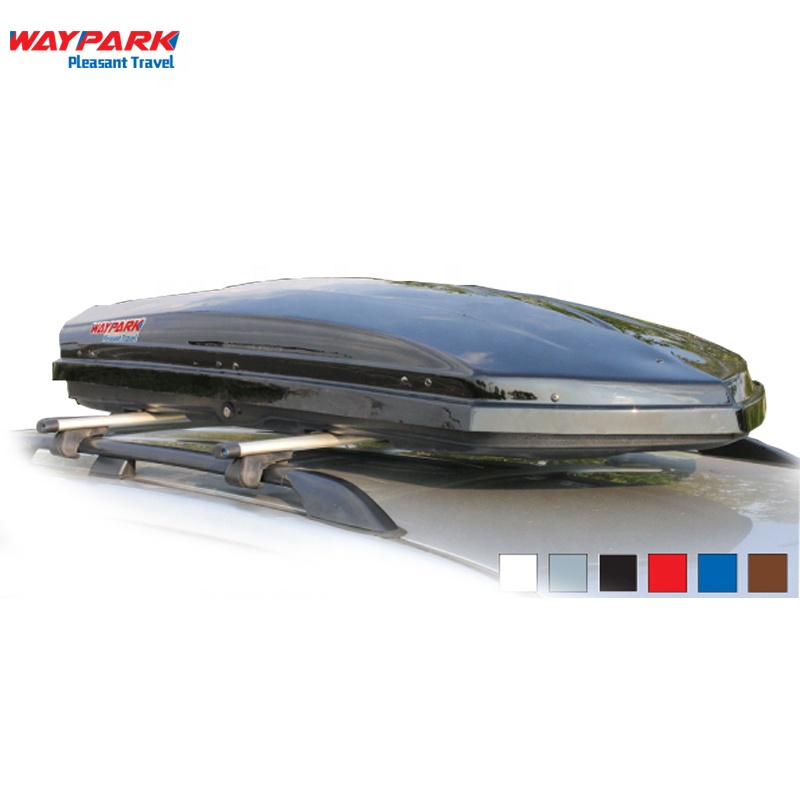 Custom High Quality 700L Black Large Capacity Car Luggage Roof Box ABS Plastic Roof Cargo Box For Car