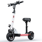 Powerful Electric Scooter Electric Scooters 48V Safe LED Light Comfortable Seat Powerful Electric Scooter