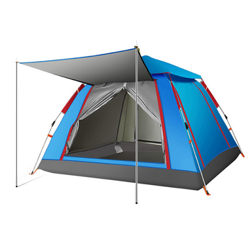 2020 best-selling family camping outdoor restaurant tent rain-proof shade family tent all four doors can be opened