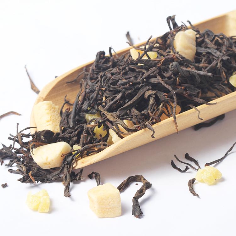 Flavored Black Tea Drink Organic Coconut Pineapple Chinese Black Tea - 4uTea | 4uTea.com