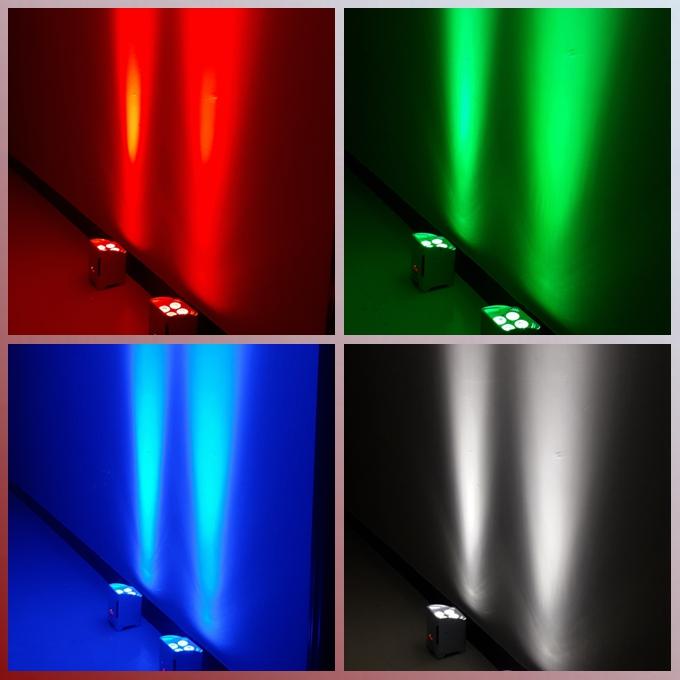 Акция черной пятницы! 4*18 Вт RGBWA + UV 6 в 1 WDMX светодиодная батарея PAR LIGHT