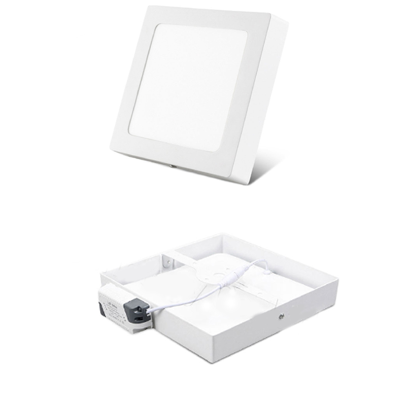2020 Factory price hanging square light frame ceiling 12w 30w 18w 24w wall sky led panel light