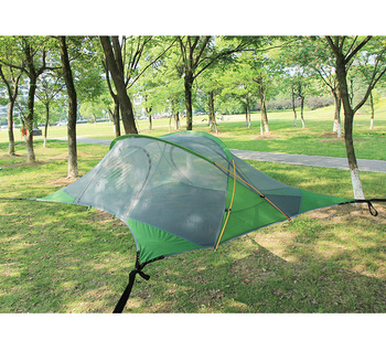 2 Persons Green Hanging Camping Tree Tent