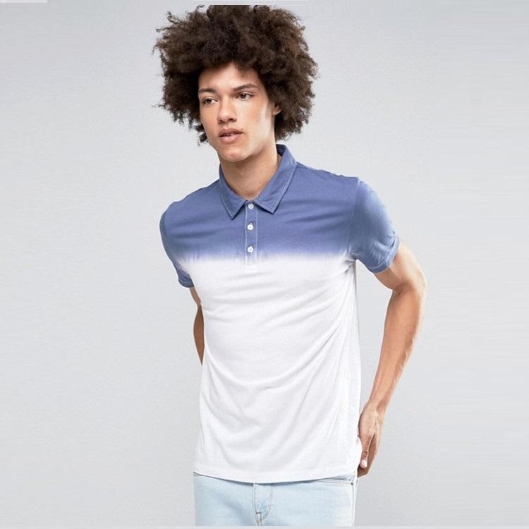 Hot Sale Versicolor Dip Dye Polo Shirt Men's Polo T Shirt - Buy Polo Shirt,Dry Fit Polo Shirt,Versicolo Polo Shirt Product on Alibaba.com