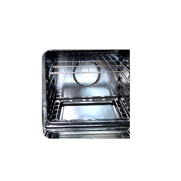 Freestanding stainless steel kitchen integrated electric oven stove with 4 hot plate cooking range with oven