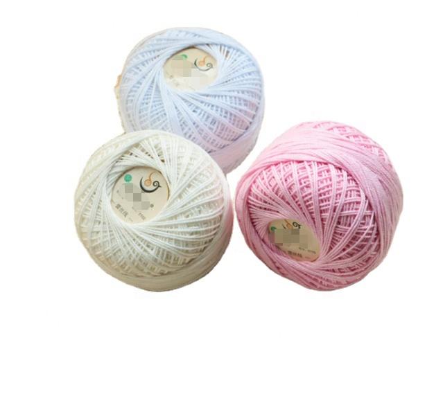 Stock  Lace Cotton yarn crochet yarn cotton in summer yarn for crochet for hand knitting