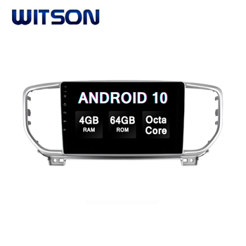 WITSON Android 10.0 Car Audio System For KIA SPORTAGE/K5 2019 4GB RAM 64GB FLASH BIG SCREEN in car dvd player
