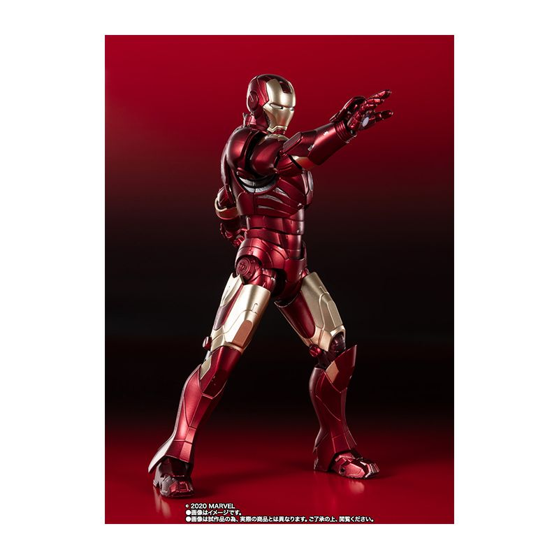 High-performance cartoon character model decoration gift with Ironman Mark