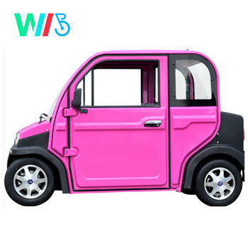 China Factory Cheap Small New Energy Lithium Battery Low Speed Adult 4 Wheel Tourist Hub Motor Mini Electric Car/Vehicle