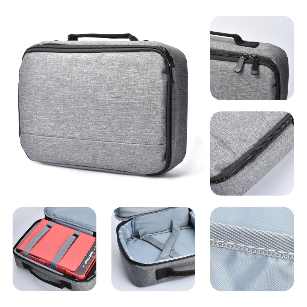 Salange Projector Bag For T6 P62 P60 W18C TD90 LED Mini Beamer Multifunction Handbag Dust Cover Bag Protector Bag Storage