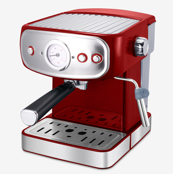 220V New arriving 15/20bar professional coffee machine with gauge electric espresso coffee maker machine cafe