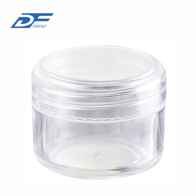 15g Plastic Clear Jars 20g Empty Plastic Jar Cream Jar