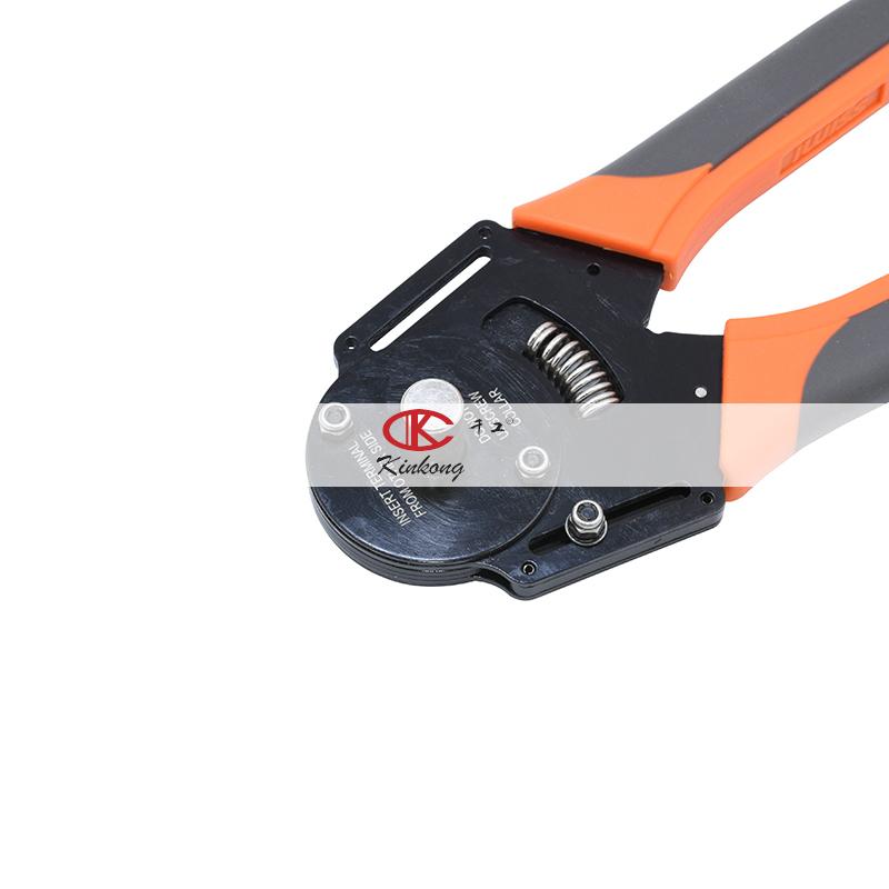 Kinkong 12AWG ручной обжимной инструмент для проводов, обжимной инструмент для автомобильного разъема