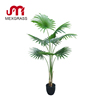 1.6m artificial california palm tree green